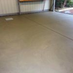 Concrete shed slab in Sandy Point, South Gippsland