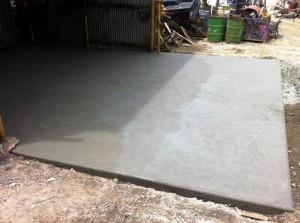 Concrete Forklift Shed Slab in Foster