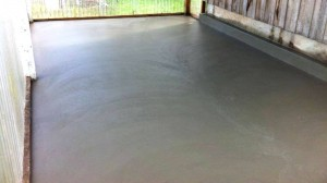 Concrete Shed Slab in Toora