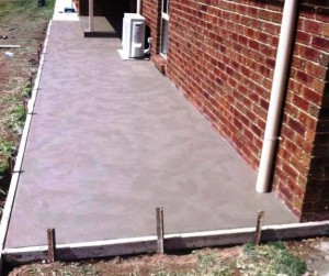 Concrete Extension Slab & Footpath in Foster, Victoria