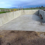 Concrete material bin in Woorarra, South Gippsland